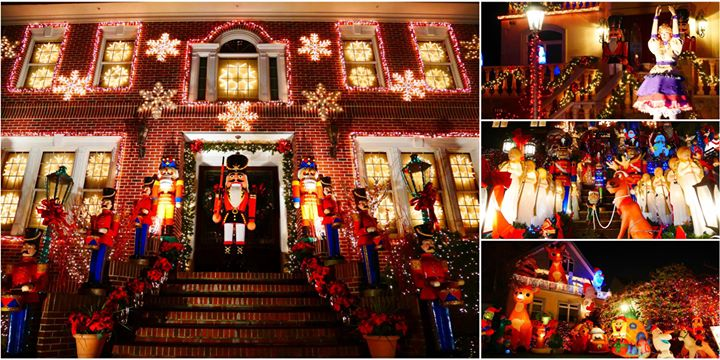 feed your annual holiday spirit addiction with a trip to dyker heights brooklyn which has become internationally renowned for its christmas lights display